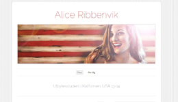 Alice Ribbenviks blogg