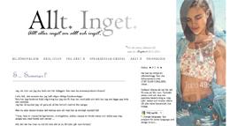 Amanda Nilssons blogg