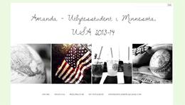 Amanda Welanders blogg