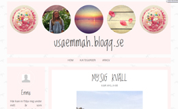 Emma Hallingers blogg