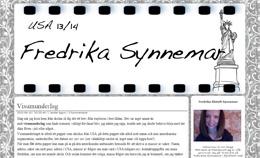 Fredrika Äletoft Synnemars blogg