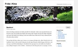 Frida Grahns blogg