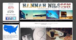 Hannah Nilssons blogg