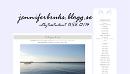 Jennifer Brukss blogg