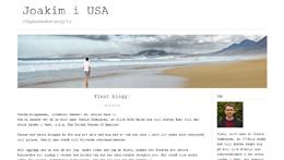 Joakim Cedergrens blogg