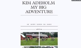 Kim Adeholms blogg