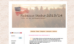 Rebecca Davidssons blogg