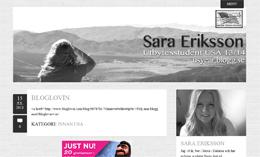 Sara Erikssons blogg