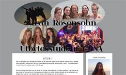 Sarah Rosensohns blogg