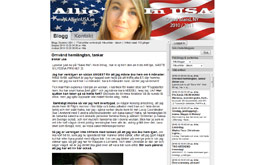 Alexandra Frandsens blogg
