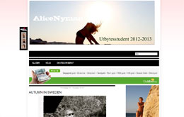 Alice Nymans blogg