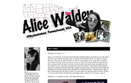 Alice Waldens blogg