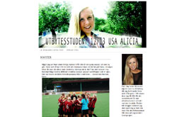 Alicia Hentschels blogg
