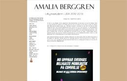 Amalia Berggrens blogg