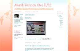 Amanda Perssons blogg