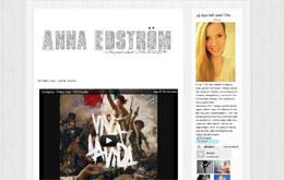 Anna Edströms blogg