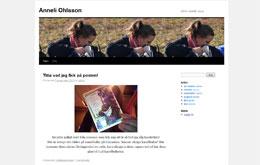 Anneli Ohlssons blogg