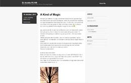 Annika Karlsens blogg