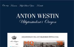 Anton Westins blogg