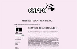 Caroline Fängströms blogg