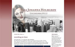 Elsa Holmgrens blogg