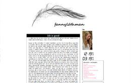 Fanny Löthmans blogg