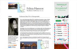 Felicia Hanssons blogg