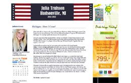 Julia Trulssons blogg