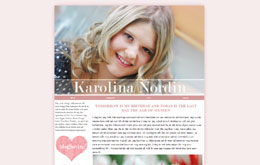 Karolina Nordins blogg