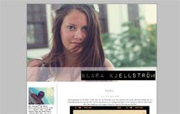 Klara Kjellströms blogg
