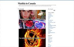 Matilda Augustssons blogg