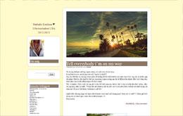 Nathalie Emilsons blogg