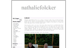 Nathalie Folckers blogg