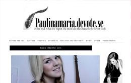 Paulina Sjöholms blogg