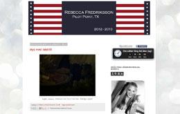 Rebecca Fredrikssons blogg
