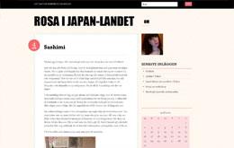 Rosanna Hovrells blogg