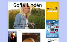Sofia Lindéns blogg