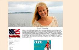 Stina Ahlmarks blogg