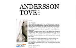 Tove Anderssons blogg