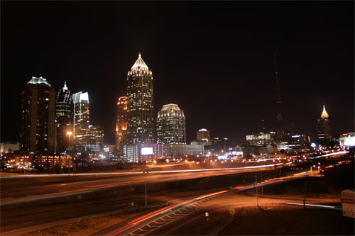 Atlanta Georgia by Night