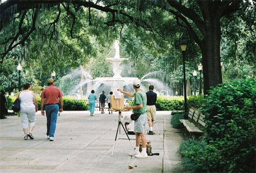 Park i Savannah