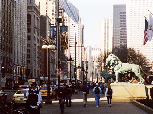 Chicago Michigan Avenue