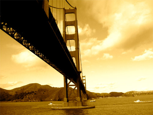 Golden Gate Bron i Kalifornien