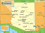 Arizona karta