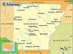 Arkansas karta
