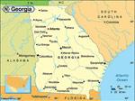 Georgia karta