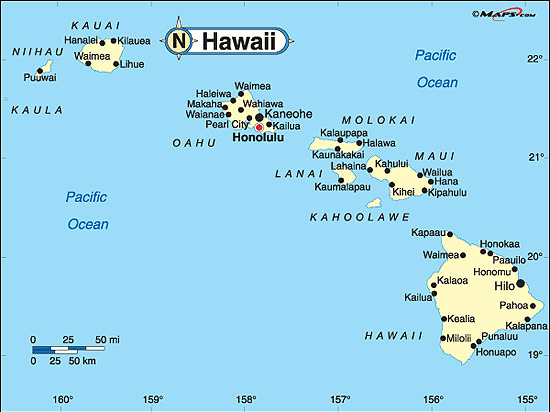 Hawaii Fakta Om Hawaii Amerikanska Stater