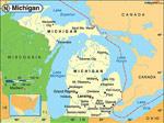 Michigan karta