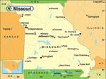 Missouri karta