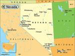 Nevada karta
